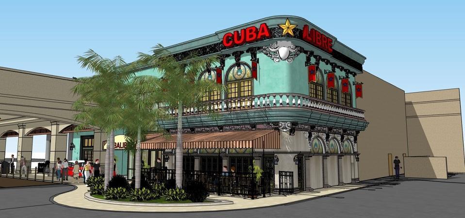 Cuba Libre San Juan rendering