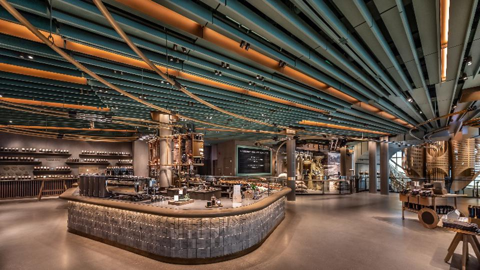The Starbucks Roastery in Chicago