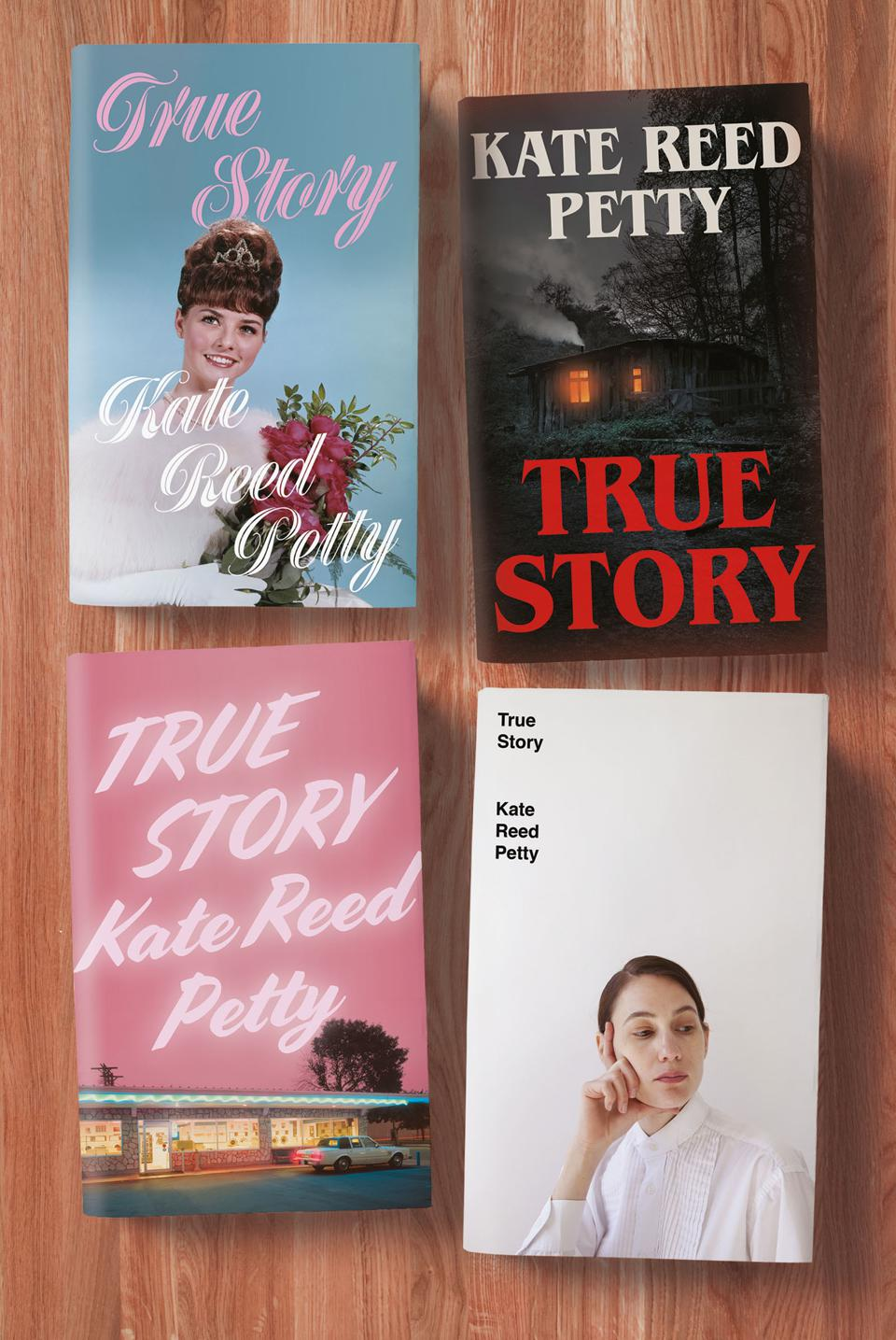 true story kate reed petty four covers riverrrun uk book cover proof galley debut novel
