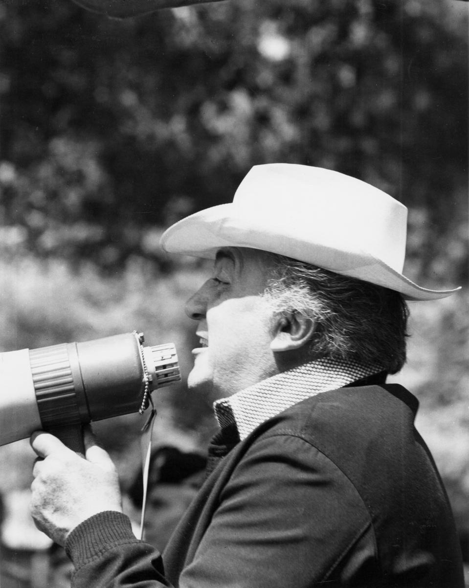 Filmmaker Federico Fellini