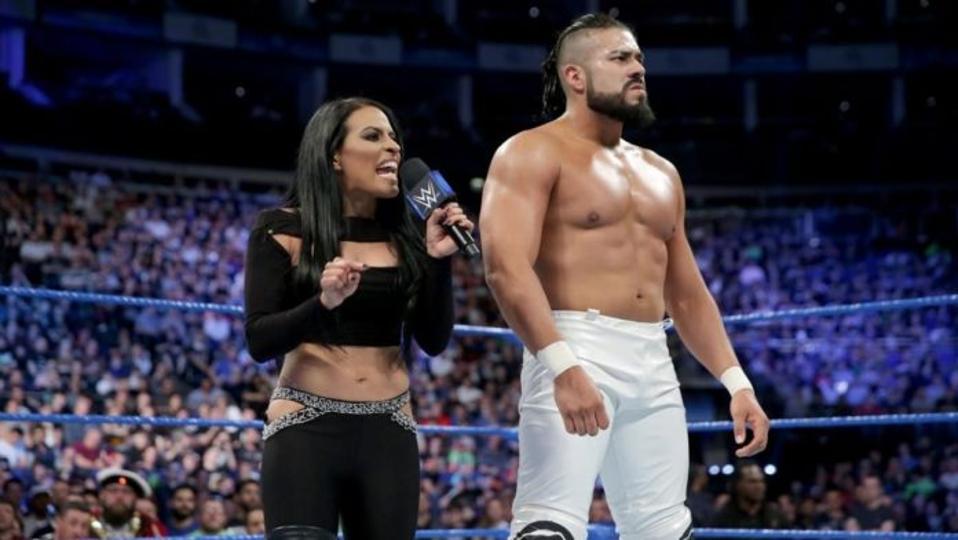 WWE SmackDown: Andrade and Zelina Vega