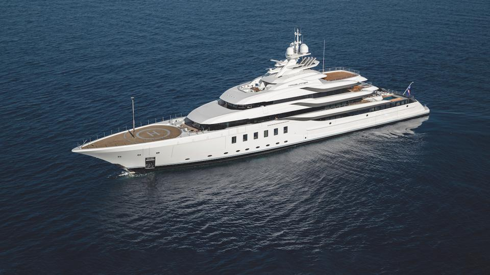 Madsummer is a new addition to the worlds largest yachts list