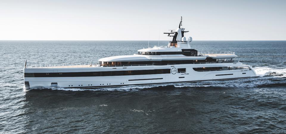 The Lady S superyacht is owned by Washington Redskins owner Daniel Snyder.