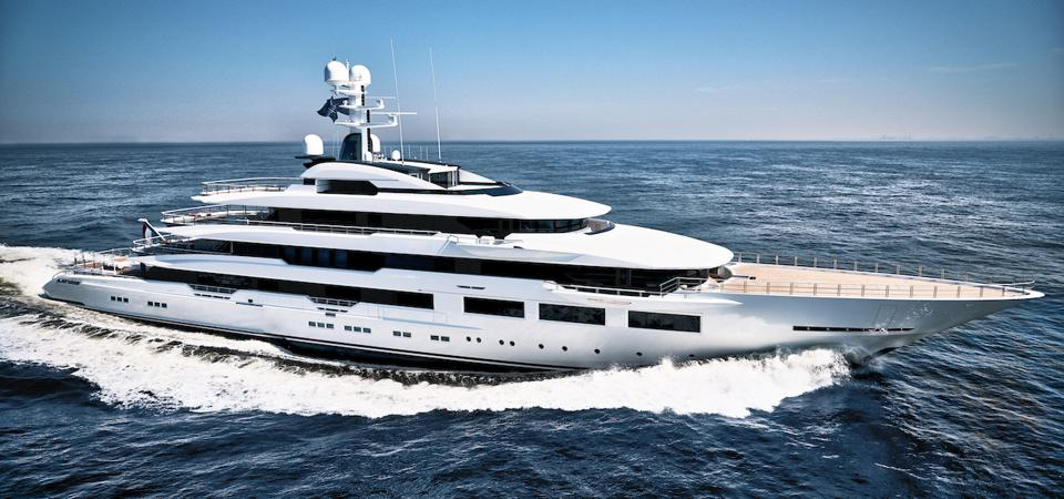 Home Depot Co-Founder's yacht DreAMBoat  made the list of the world's largest super yachts this year.