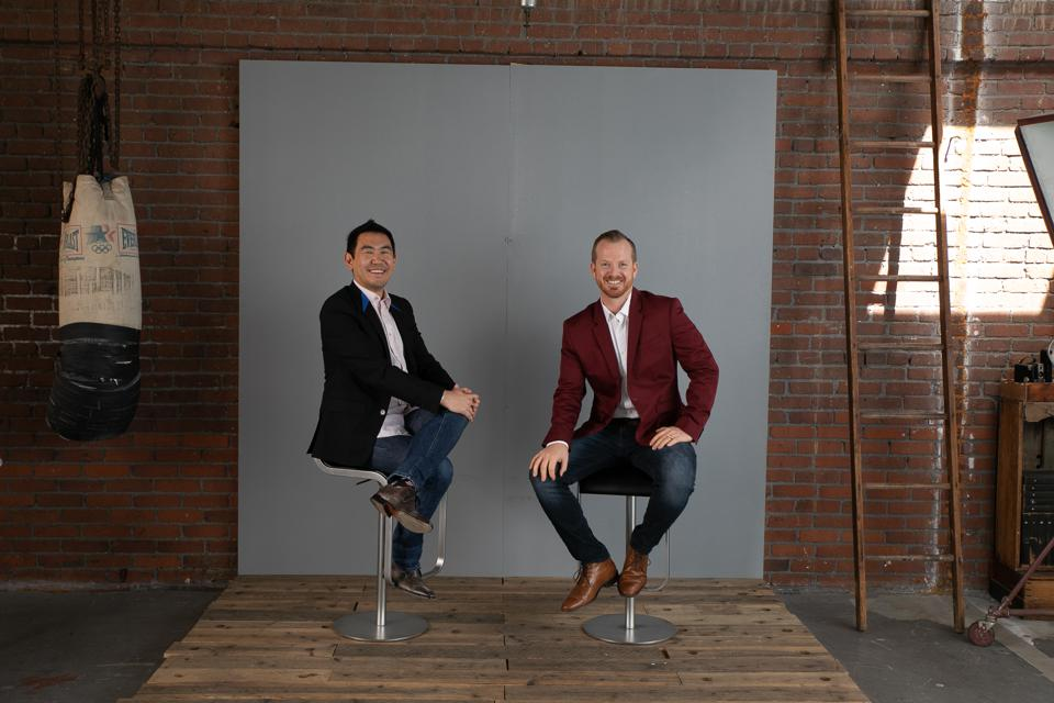 Ditch The Act authors Leonard Kim and Ryan Foland.
