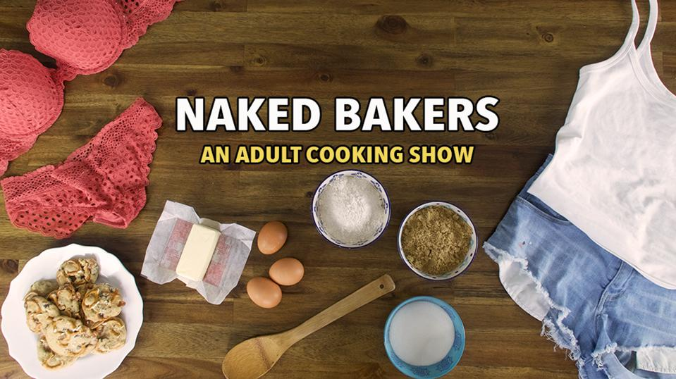 Logo for the Naked Bakers show