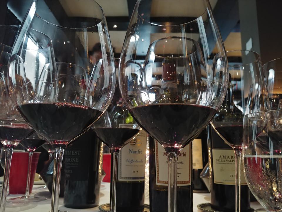Tasting Tenuta Sant'Antonio Wines at Del Posto in New York City Wines