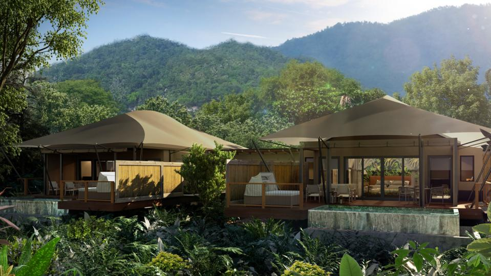 Nayara Tented Camp in Costa Rica.