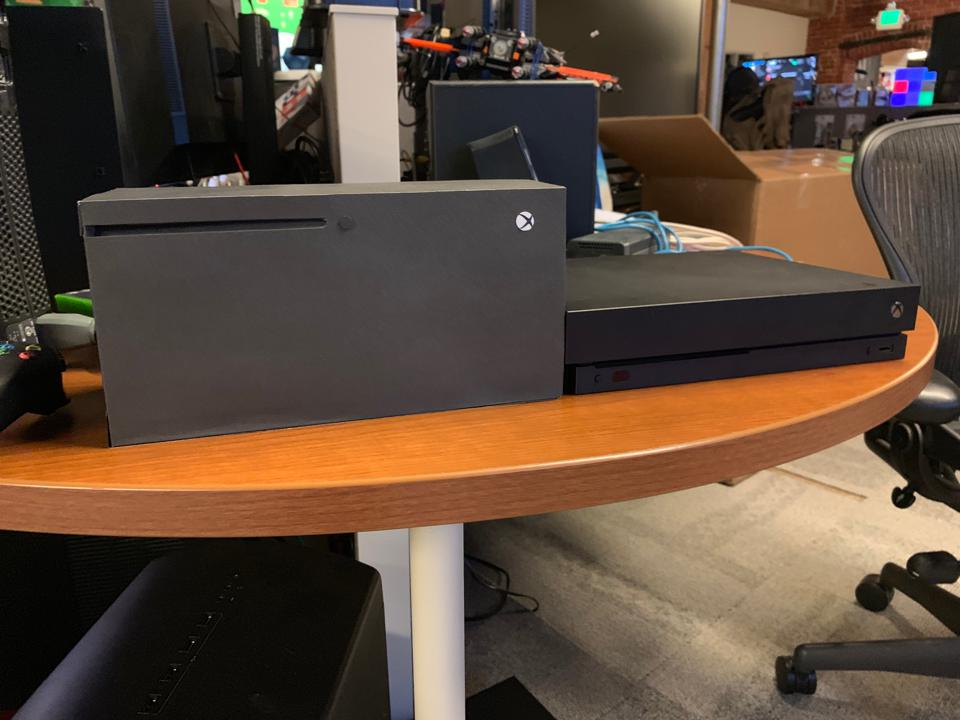 The Xbox Series X Appears To Be An Absolute Unit