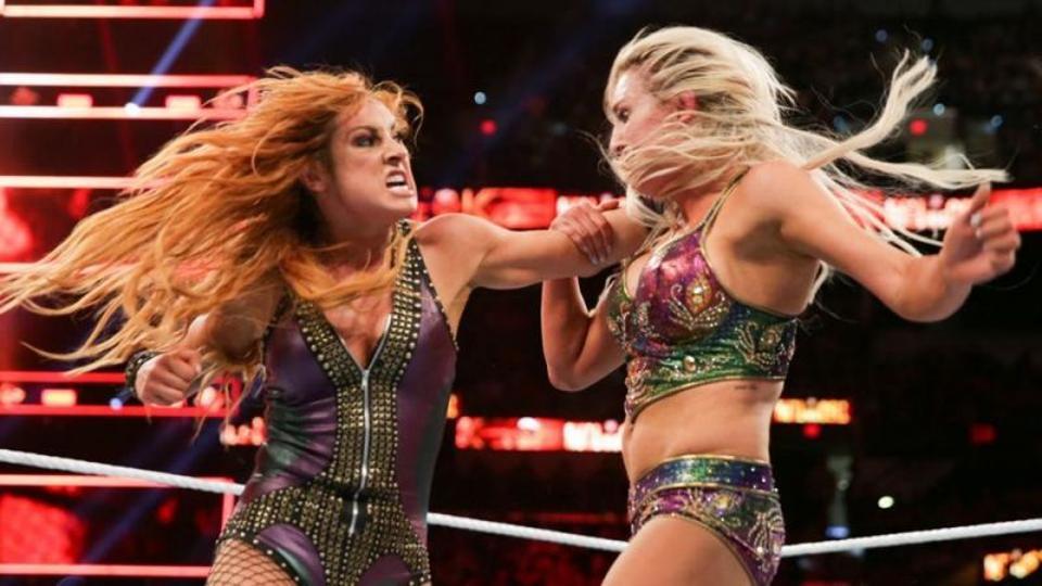 WWE Raw: Charlotte Flair vs. Becky Lynch