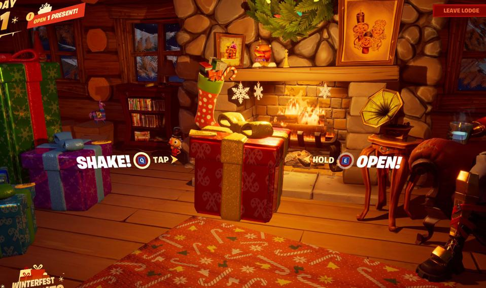Fortnite S Winterfest Event Here S What S In All The Presents