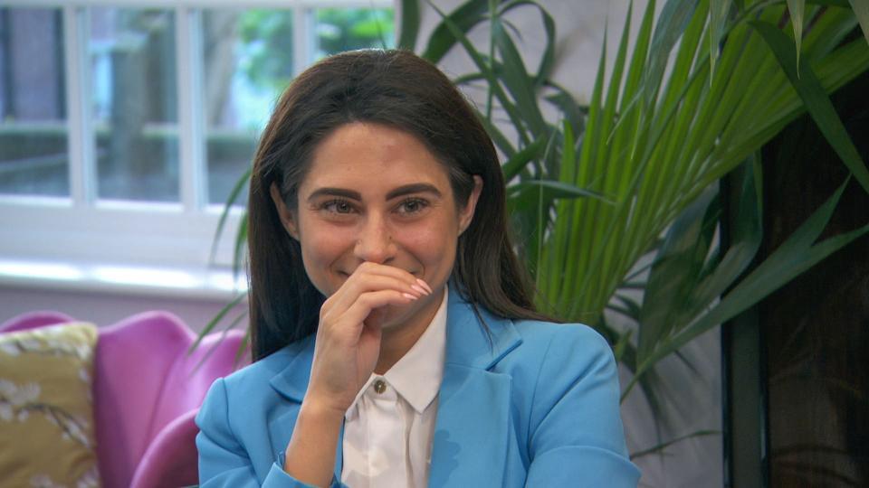 The Apprentice finalist Carina Lepore.