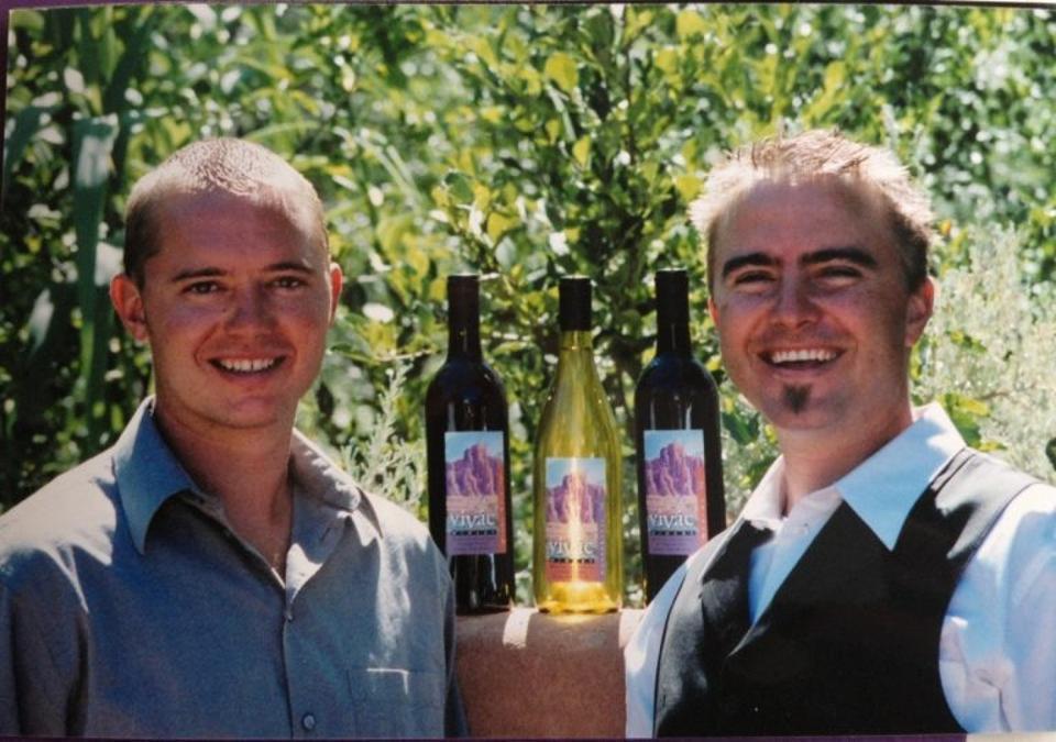 Jesse and Chris Padberg of Vivác Winery