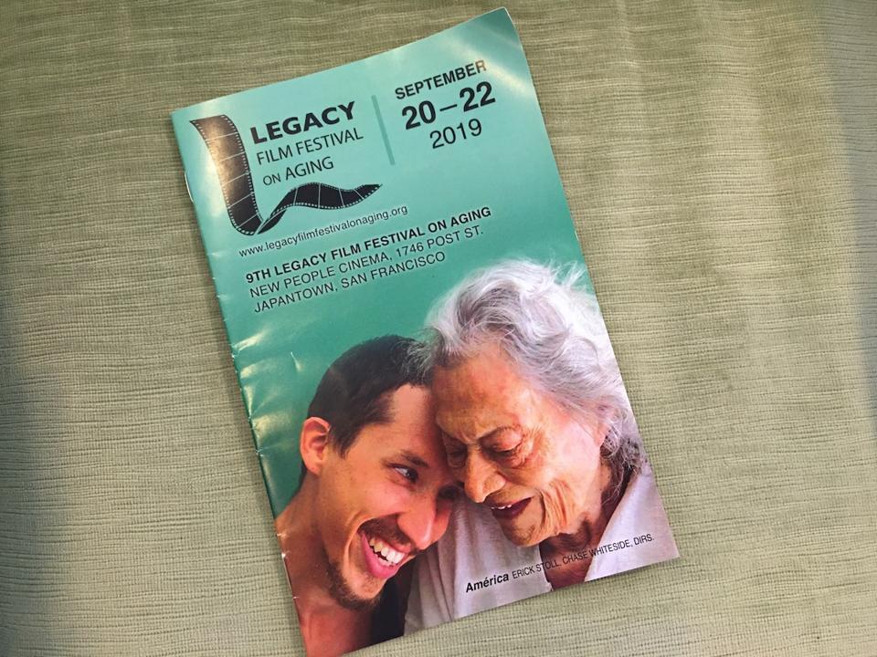 Legacy Film Festival On Aging program
