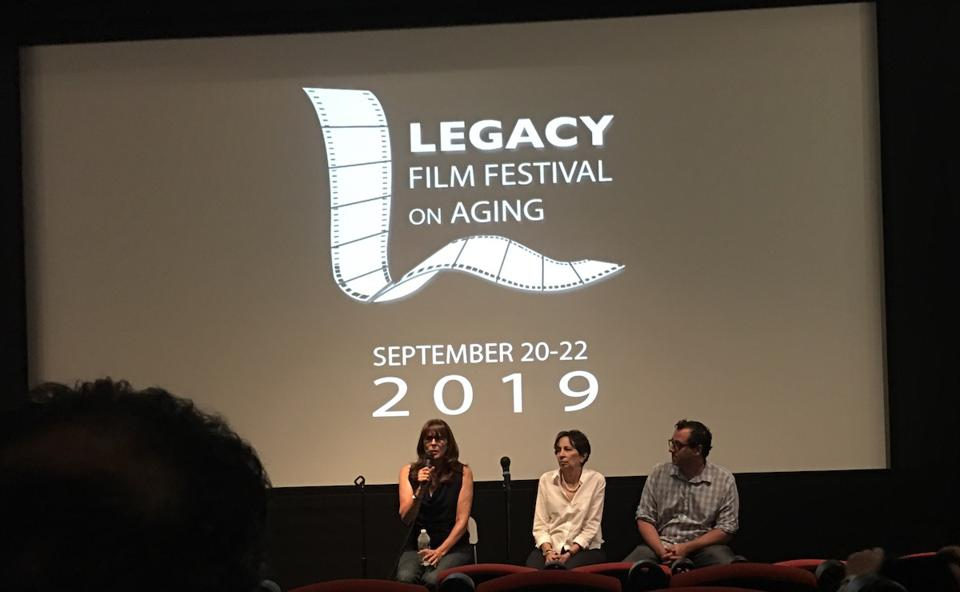 Speakers at the Legacy Film Festival On Aging add to the experience.