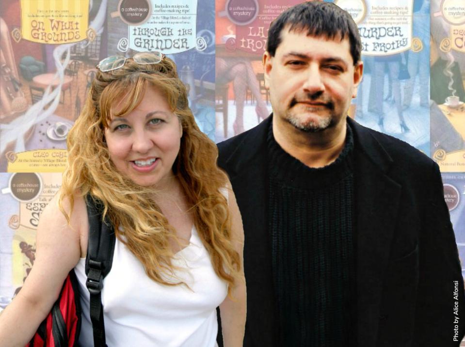cleo coyle coffeehouse coffeeshop cozy mystery-series authors alice alfonsi marc cerasini