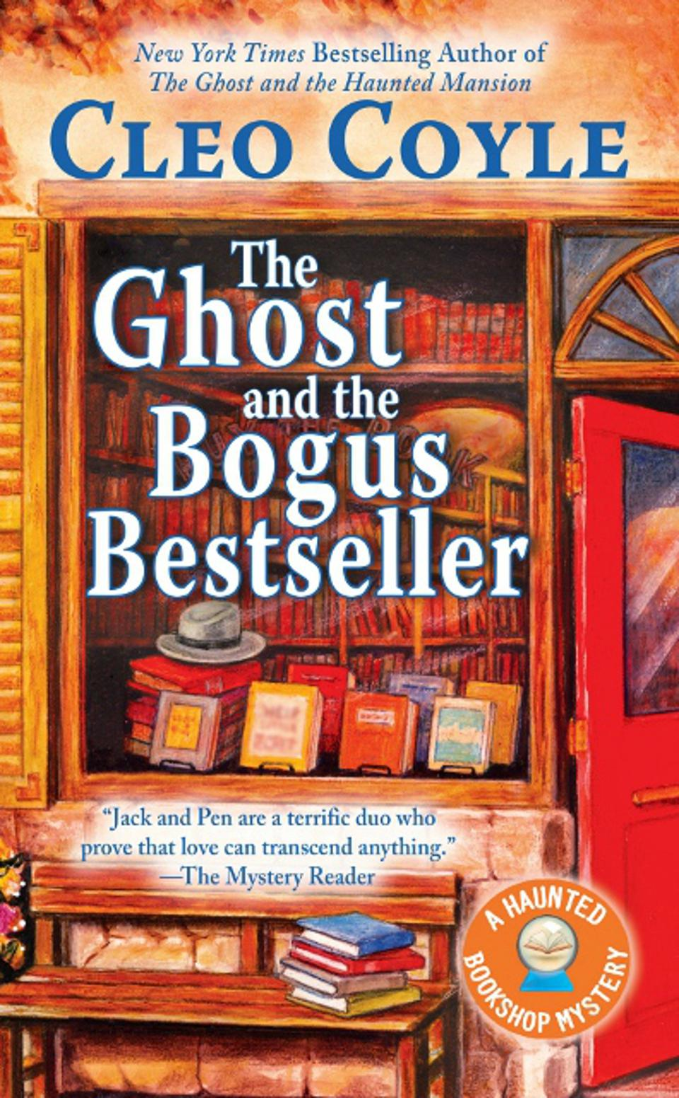 the ghost and bogus bestseller cleo coyle haunted bookshop cozy-mystery series book cover