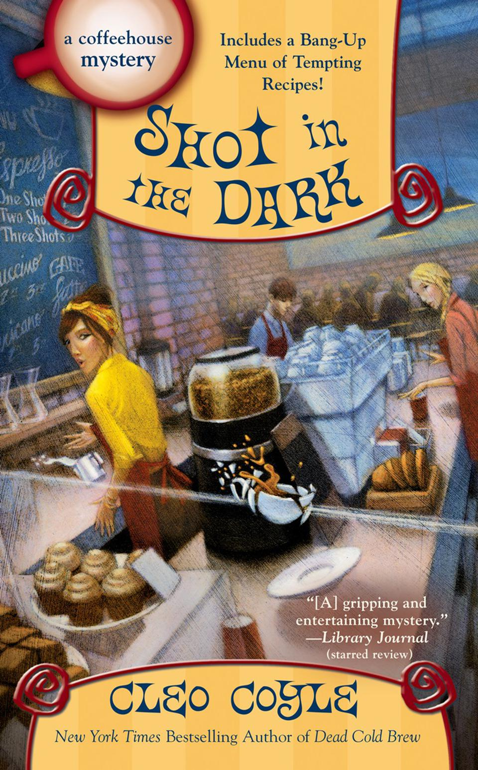 shot in the dark cleo coyle coffeehouse coffeeshop cozy mystery