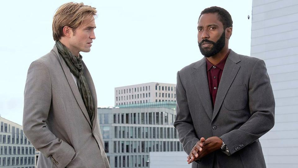 Robert Pattinson og John David Washington i Chris Nolans 'Tenet'