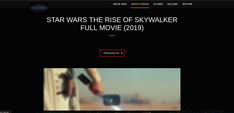 Googling For Star Wars The Rise Of Skywalker Could Prove A Costly Mistake