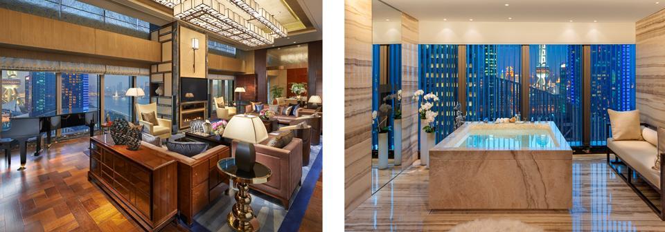 Mandarin Oriental Pudong Shanghai suite