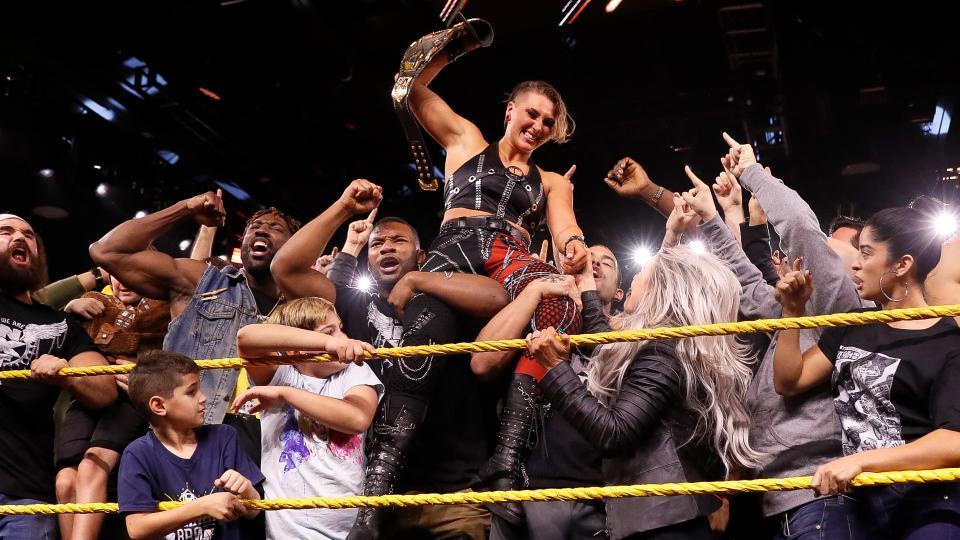 WWE Rhea Ripley NXT AEW Dynamite