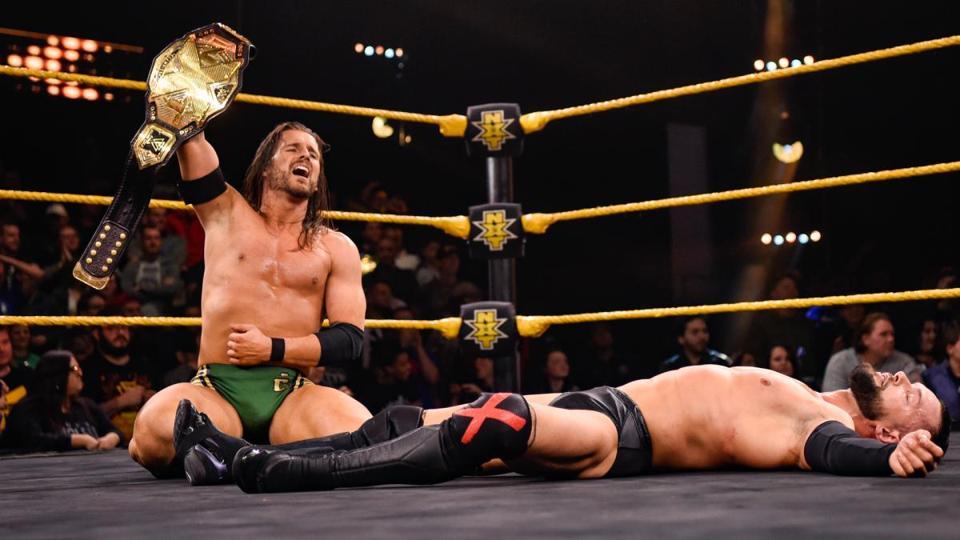 WWE Adam Cole Finn Balor NXT AEW Dynamite