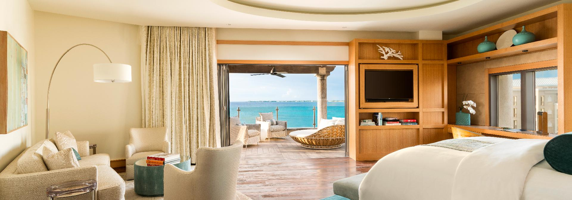 Ritz-Carlton Grand Cayman suite