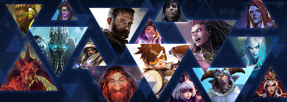 Every game in Blizzard's current collection has something on sale.