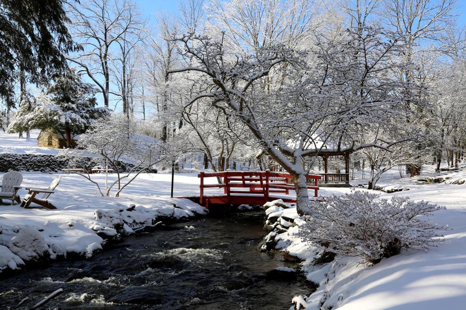 Troutbeck in winter.