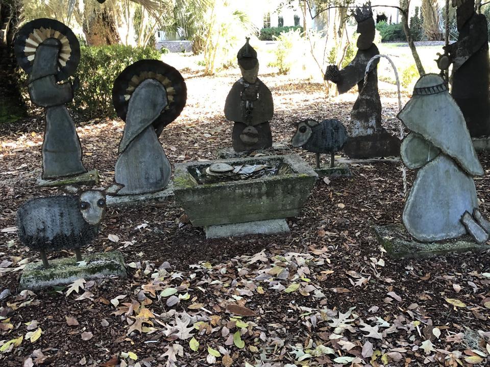Creche from Mepkin Abbey Creche Festival 2019