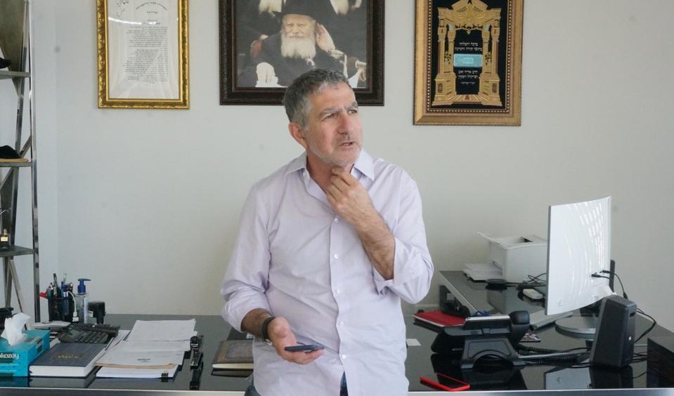Tal Dilian, founder of WiSpear, in Larnaca, Cyrpus.