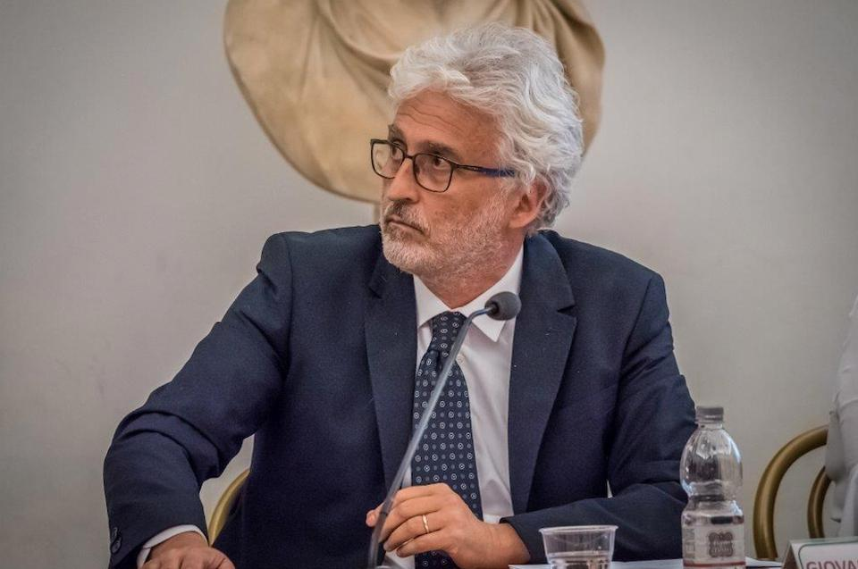 Giovanni Bastianelli, Executive Director of ENIT, which is helping to promote the ″Venice in the Heart″ campaign to raise funds for the city, which suffered more than an estimated $1 billion in damage