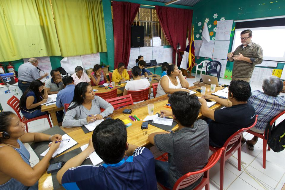 How to Run a Craft Based Business Training in Floreana