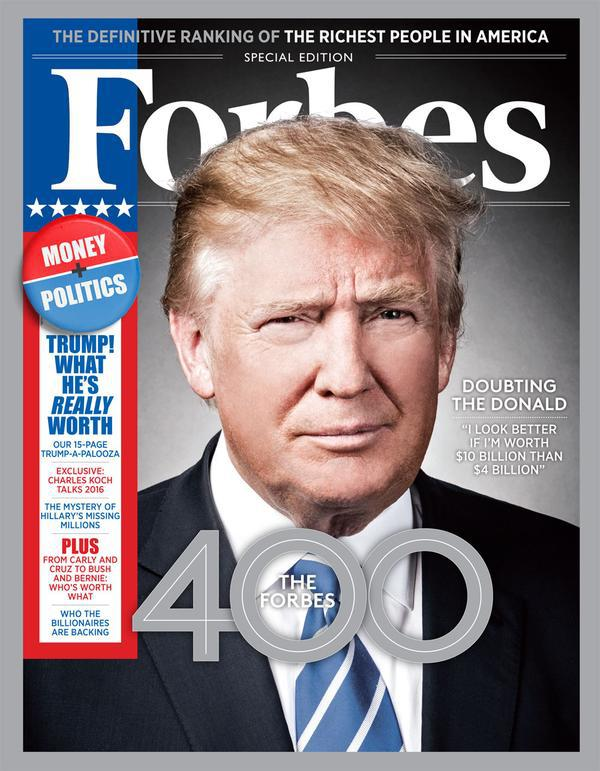 Forbes 400 2015: Donald Trump