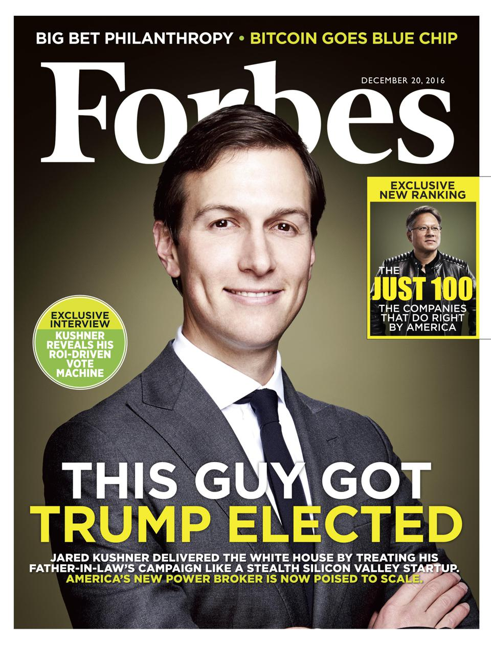 Jared Kushner: The FORBES cover story