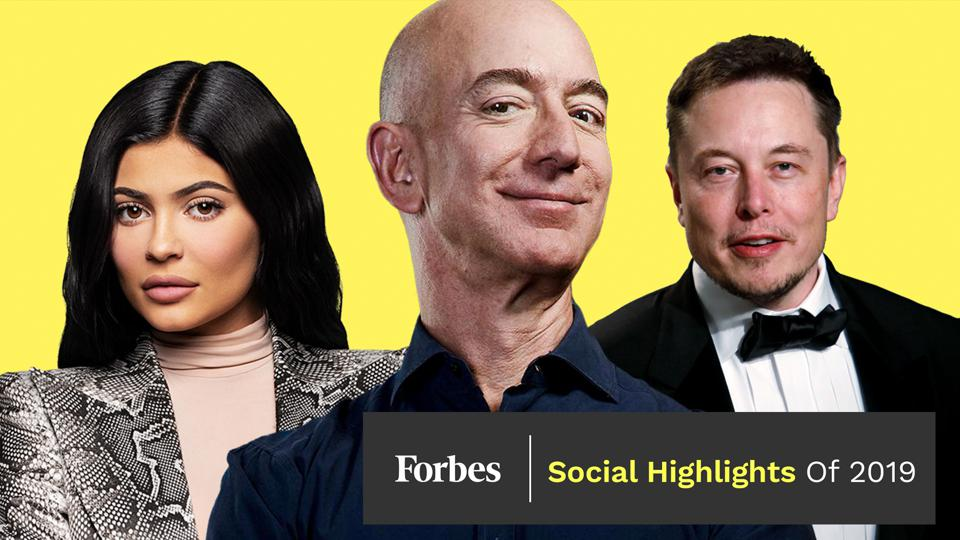 Kylie Jenner, Jeff Bezos and Elon Musk landed on the 2019 Forbes Billionaires list.