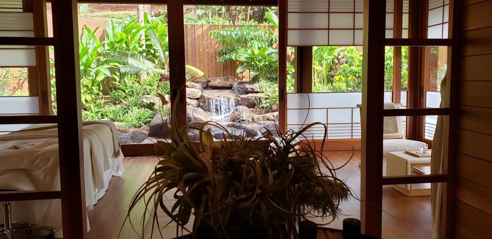 Four Seasons Hotel Lanai at Koele, A Sensei Retreat, Lanai, Hawaii, Larry Ellison, wellness retreats