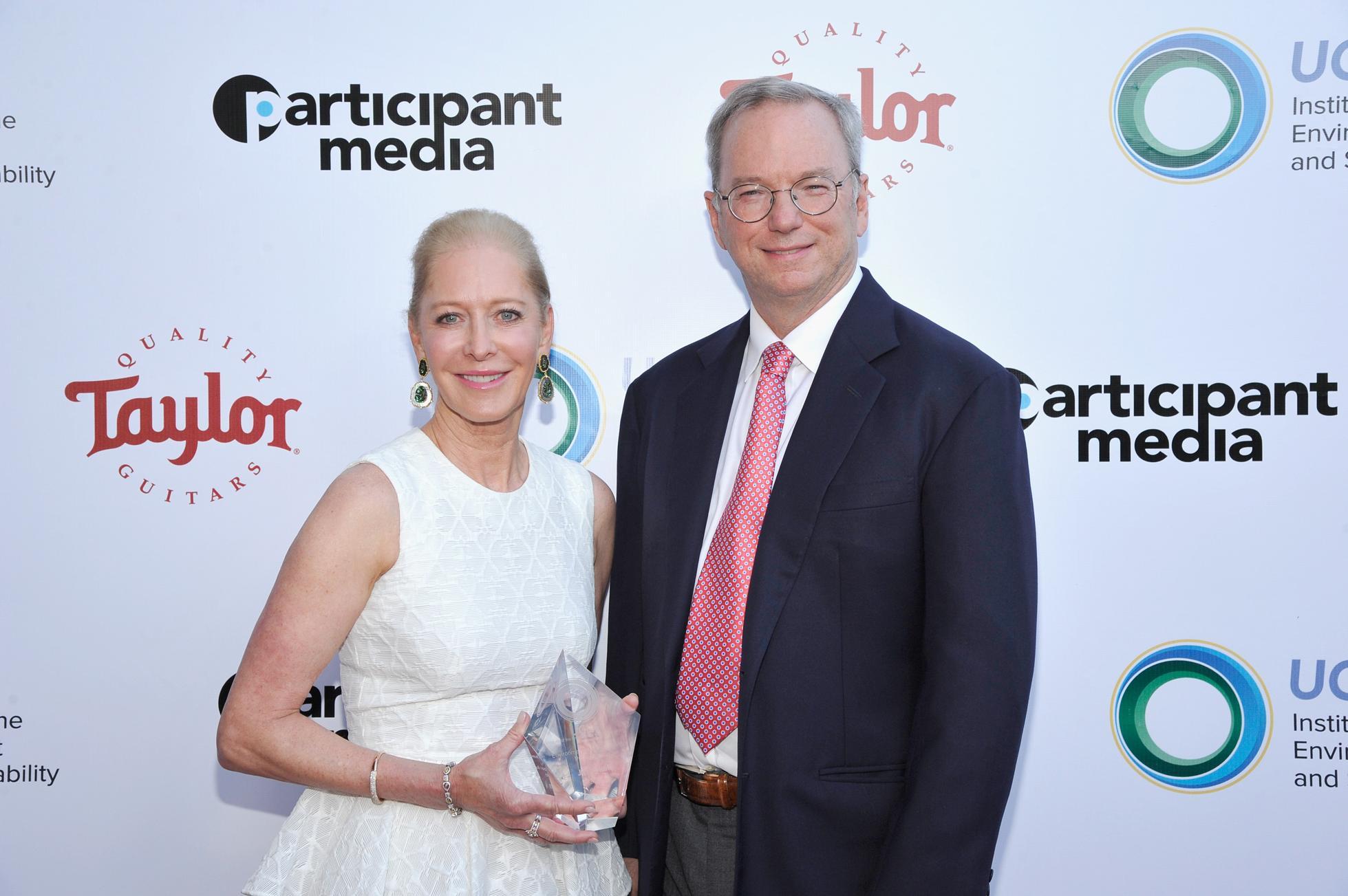 Wendy Schmidt and Eric Schmidt