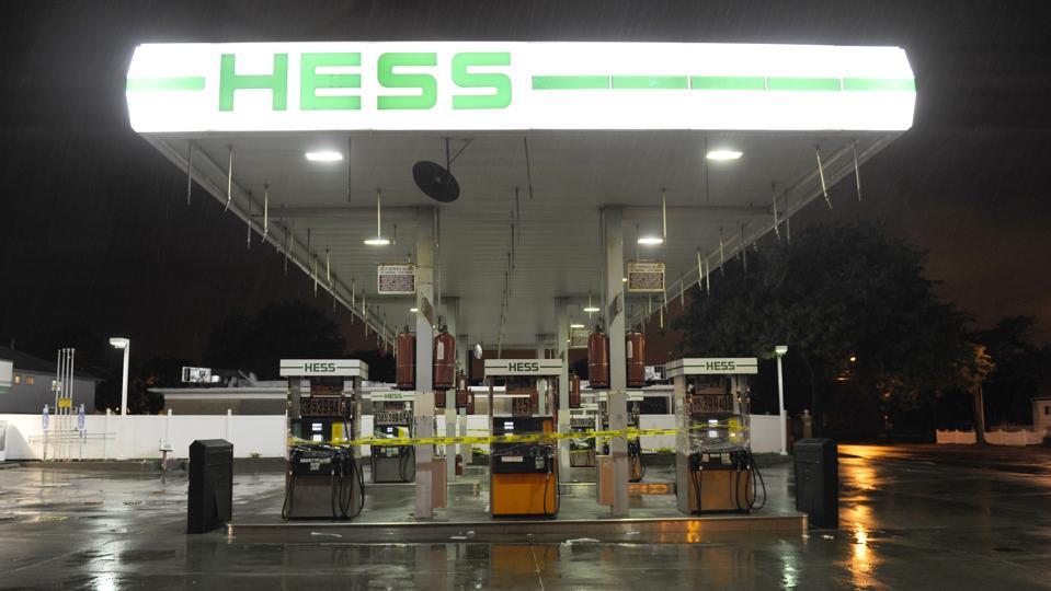 New York prepares for Hurricane Irene Hess