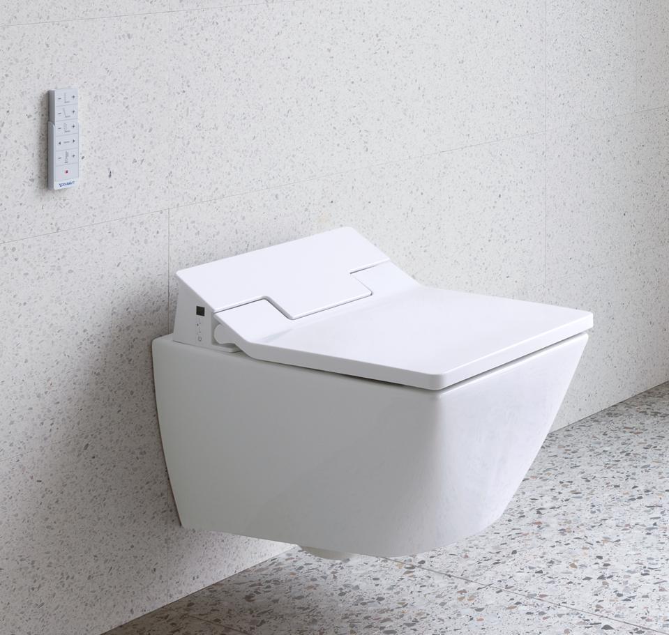 Bidet-style toilet