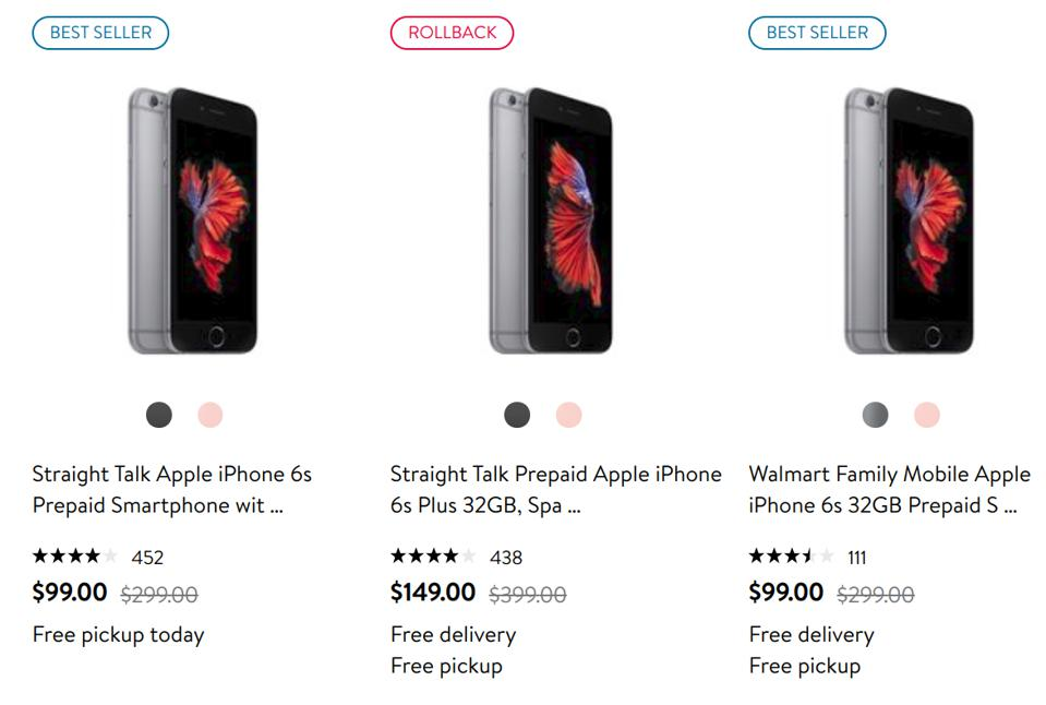 cheapest iPhone, lowest iPhone price, budget iPhone, old iPhone deal.
