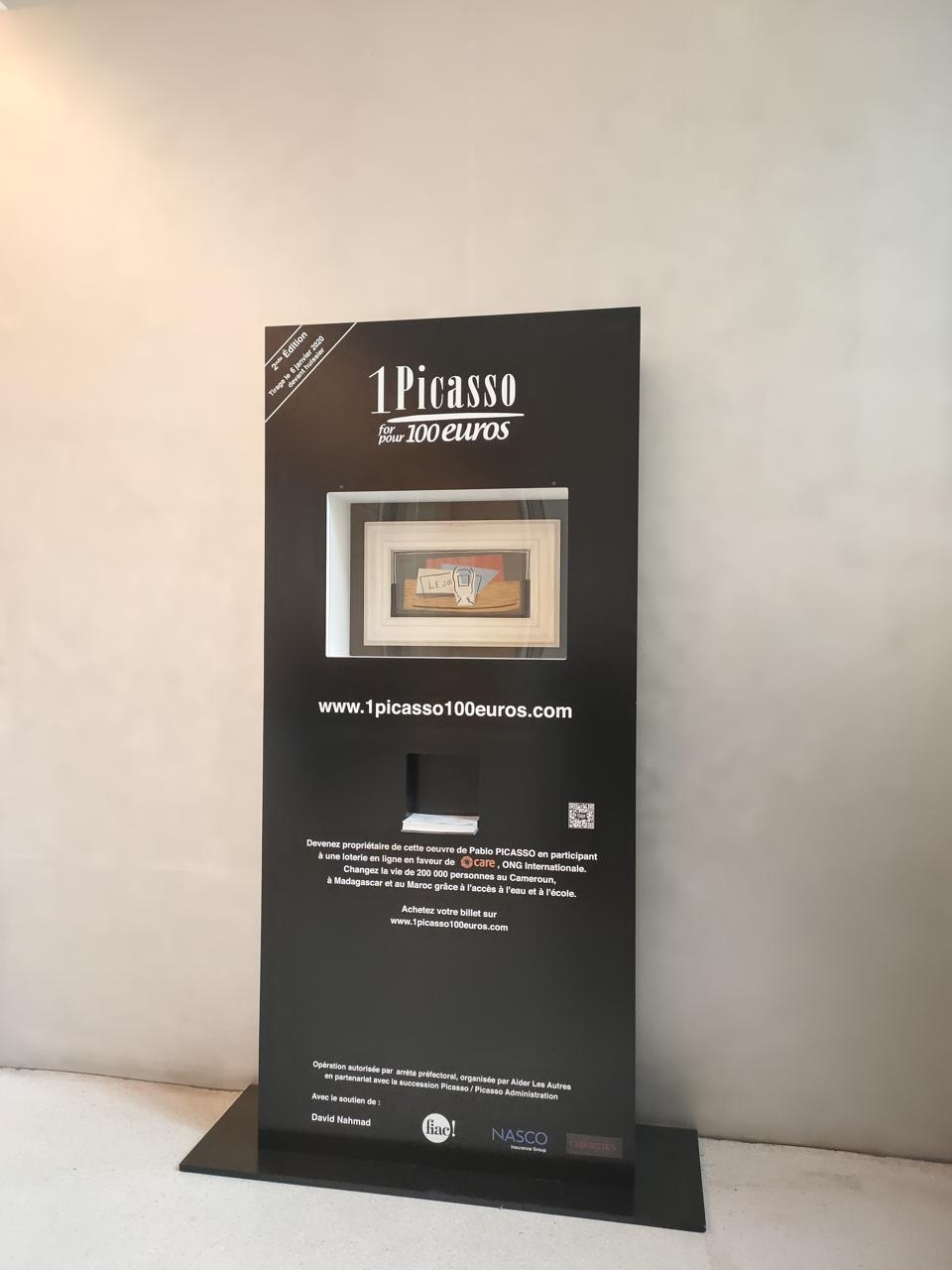 1 Picasso for 100 euros