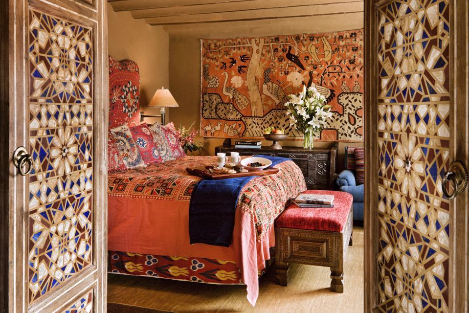 The Inn Of The Five Graces Santa Fe Bedroom Relais Chateaux
