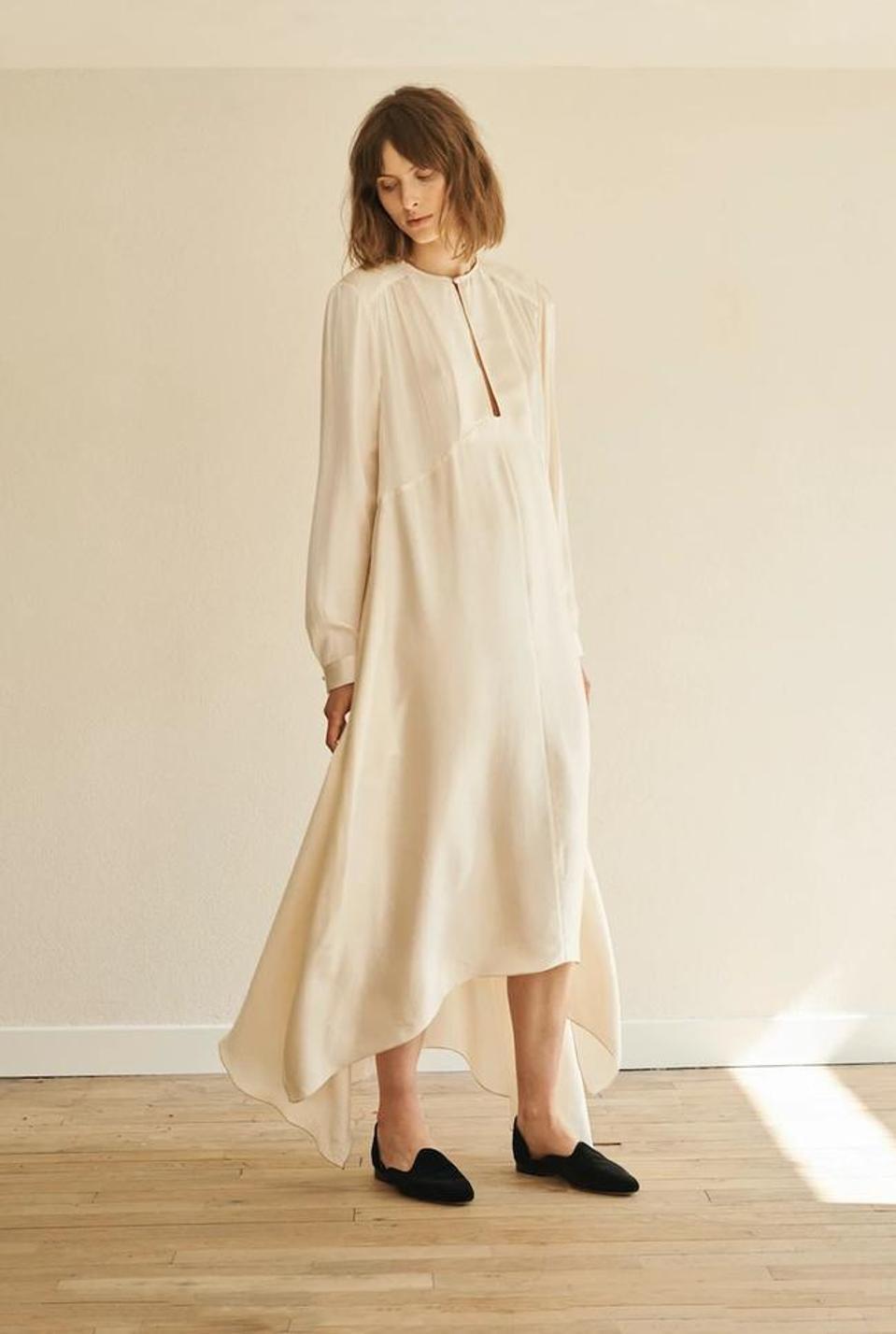 Turfan Silk Dressby Le Kasha