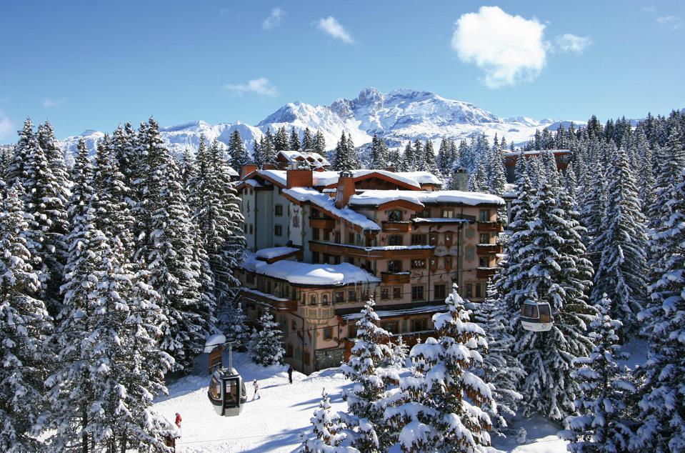 Les Airelles Courchevel best hotel in the alps