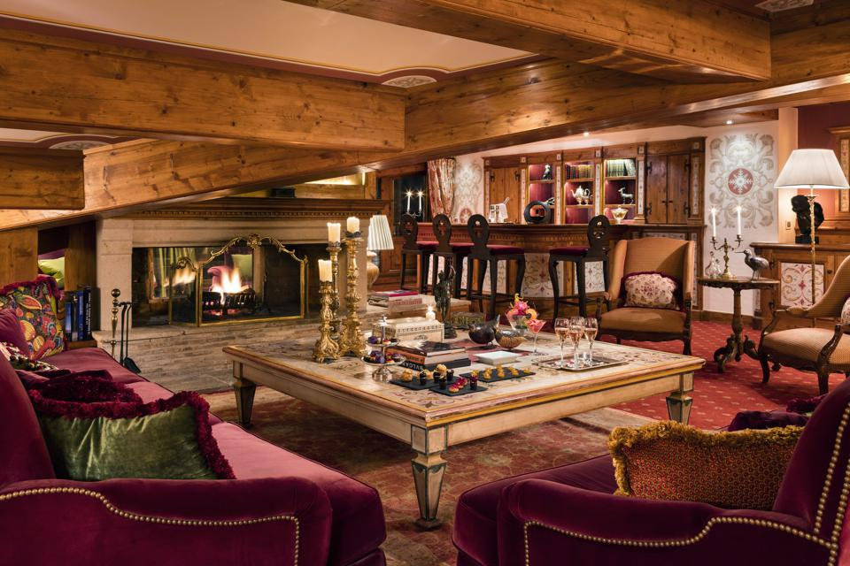 best hotel in the alps les airelles courchevel french alps