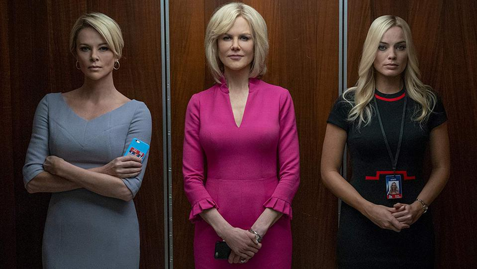 Charlize Theron, Nicole Kidman and Margot Robbie in Jay Roach's 'Bombshell'