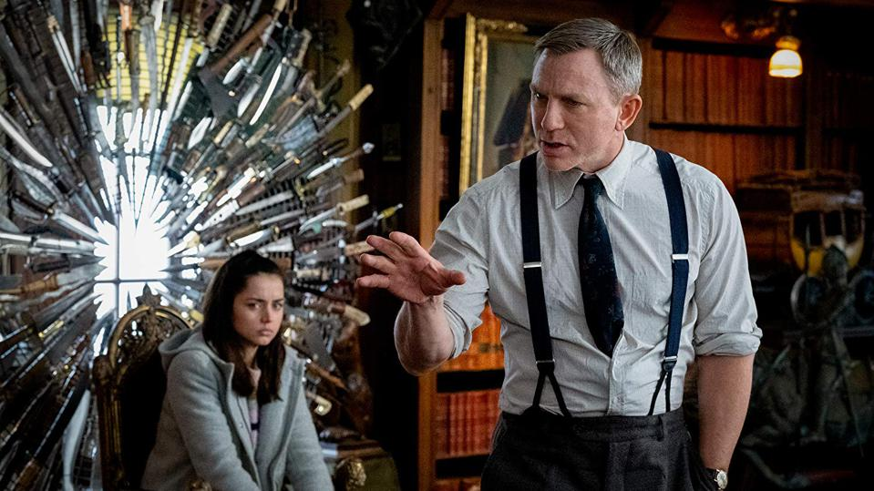 Daniel Craig and Ana De Armas in Rian Johnson's 'Knives Out'