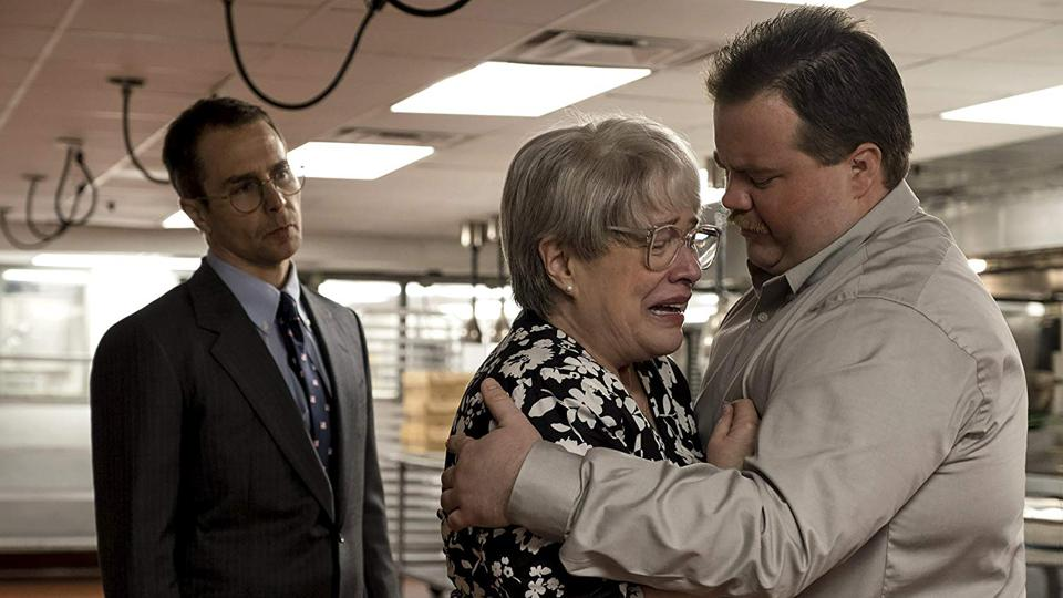 Kathy Bates, Sam Rockwell, and Paul Walter Hauser in Clint Eastwood's 'Richard Jewell'